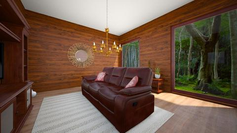 chaletlivingroom - Living room  - by Emmachiavelique