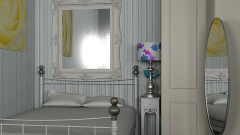 bedroom - Retro - Bedroom  - by america_lee