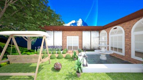Outdoor Garden - Classic - Garden  - by tina45