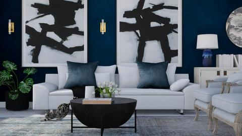 blue black - Living room - by Ripley86