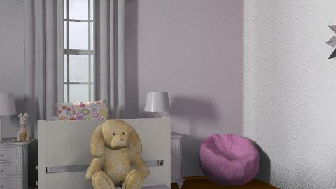 pink room - Modern - Kids room  - by caroline9