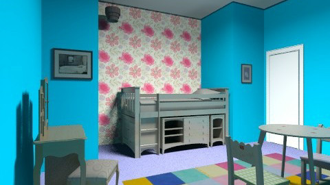 My room  - Modern - Kids room - by caitlinx0x