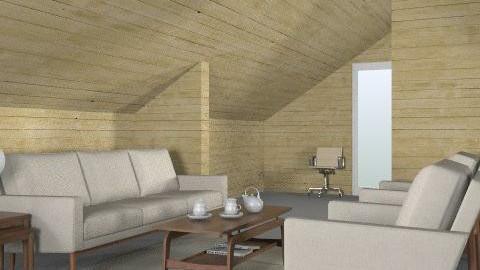 DWR- final Print2 - Minimal - Living room  - by TV Renders