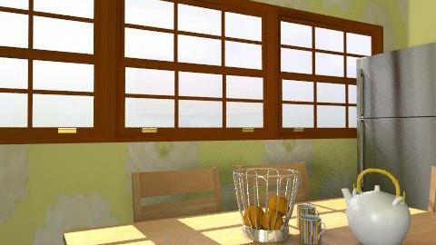 cucina - Rustic - Kitchen  - by cose di casa