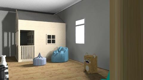 gyereke játszószobája - Minimal - Kids room  - by Fannika 11