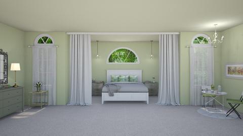 sage bedroom - by fippydude