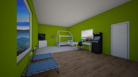 kiwi - Bedroom  - by michaelneilldesigns