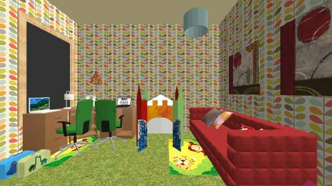room_9 - Modern - Kids room  - by Myrsini K