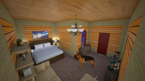 dn - Bedroom - by sara room horse