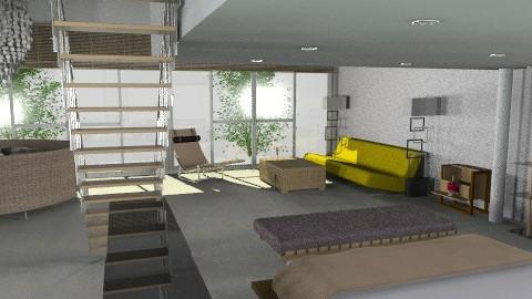 honeymoon - Minimal - Bedroom - by whateffer