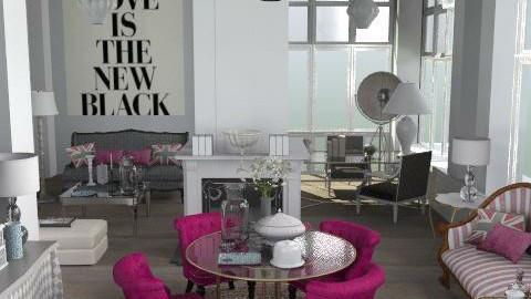 pinkoB - Classic - Living room  - by naki1