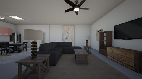 Neutral Space - Living room  - by mspence03