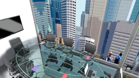 Board Room - Modern - Office  - by interiordesignmajor013