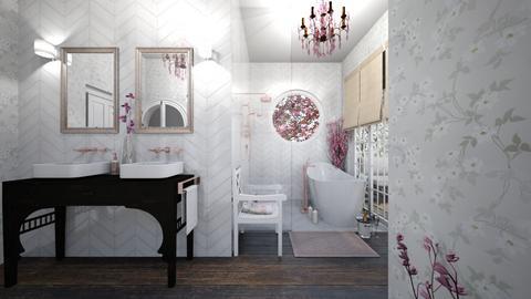 Cherry Blossom Bathroom - Bathroom  - by Charipis home