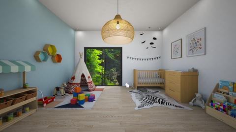 Baby Bedroom - Kids room  - by Marion_