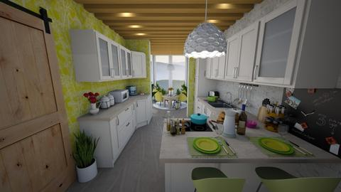 kitchen conservatory - Kitchen  - by sunflower123