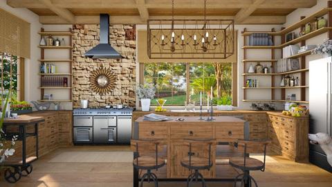 Design 526 Kitchen Chandelier - Kitchen  - by Daisy320