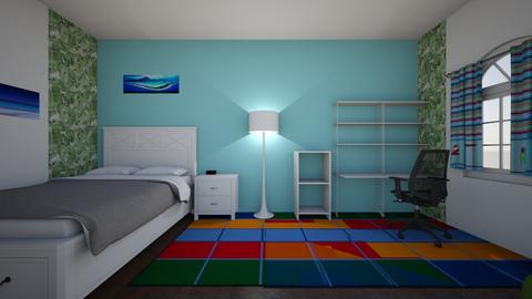 Kids Bedroom 1 - Modern - Bedroom  - by AnvithaK