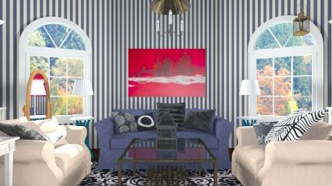 autumn - Country - Living room  - by hetregent