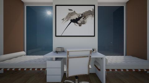 Quiet Office - Minimal - Office  - by Eli_Anna