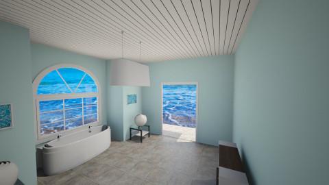Beach bathroom - Modern - Bathroom - by jeushalumley
