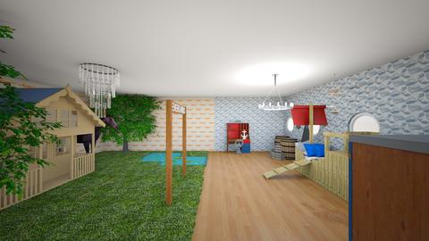 Dream boys room - Bedroom - by abigail_j_feinberg