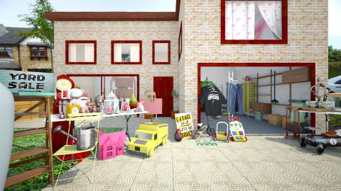 garage sale - Classic - by donella