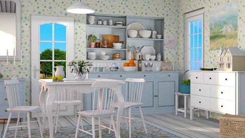 Farmhouse_kitchen - Kitchen  - by milyca8