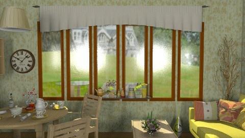 Nature_2. - Retro - Living room  - by milyca8