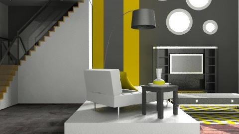 b&y - Modern - Bedroom - by juicygirl