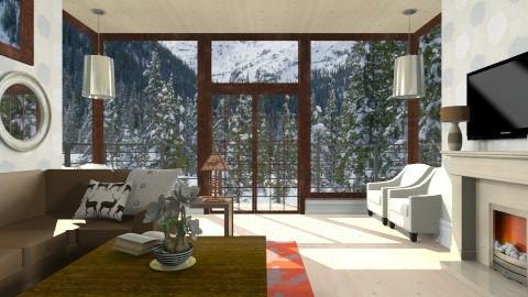 Family Room - Living room  - by skiiergirl315