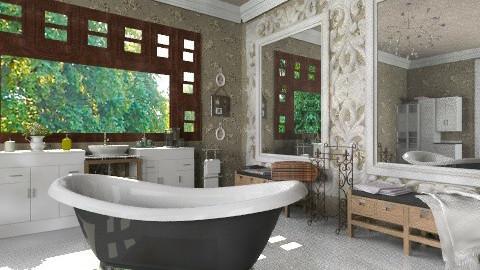 Feel myself  like a queen - Bathroom  - by sasalex88