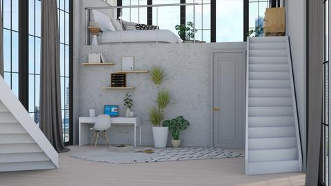 Tiny House 1  - Modern - Bedroom - by NEVERQUITDESIGNIT