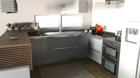 kitchen самор - Country - Kitchen  - by nikolov_ivaylo