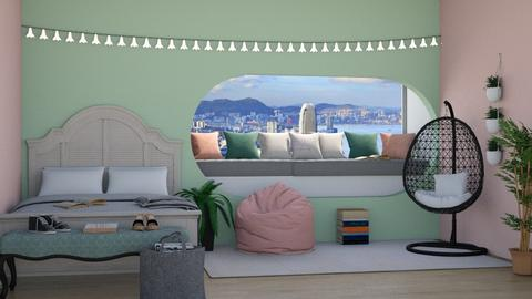 Requested room from chris - Modern - Bedroom  - by Pheebs09