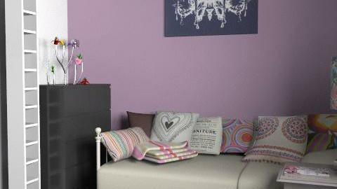 Bedroom - Rustic - Bedroom  - by tessakok1