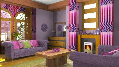 Lil - Eclectic - Living room - by mrschicken