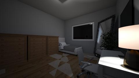 Andressa quarto - Bedroom  - by dressamdx_