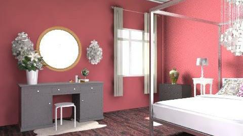 teenagers bedroom - Rustic - Bedroom  - by vicvic04