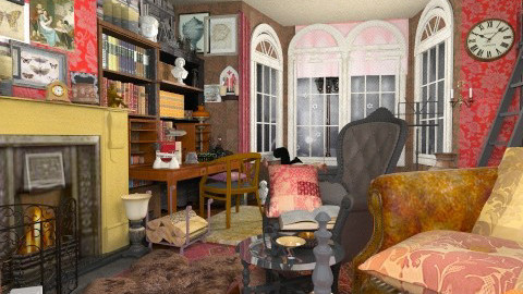 Baker St2 - Vintage - Living room  - by katmills98