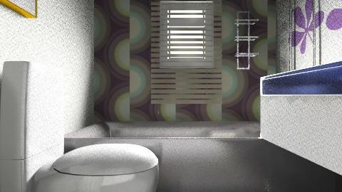 FamilyBathroom02 - Eclectic - Bathroom  - by zoeyacoub