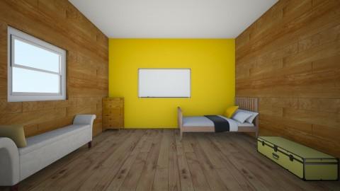 My New Bedroom - Minimal - Bedroom  - by WILDFL0WERS_