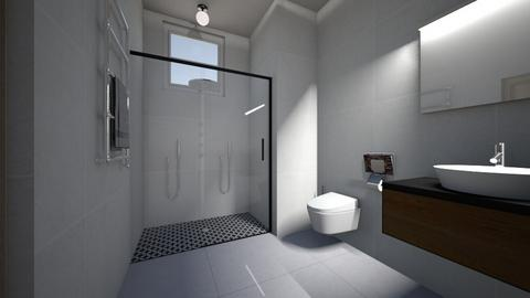 3BHK - Bathroom  - by Architectdreams