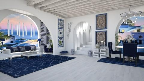 LIFE IN GREECE - Global - Living room  - by RS Designs