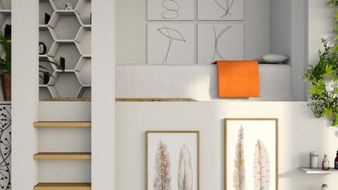 Loft Bed - Modern - Bedroom  - by millerfam