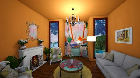 Matisse Inspired Getaway - Classic - Living room  - by rlav2