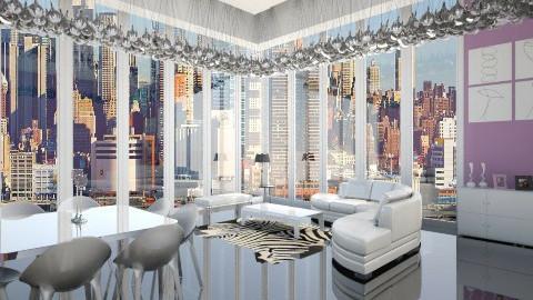 modern  - Living room - by ostwany_aboud