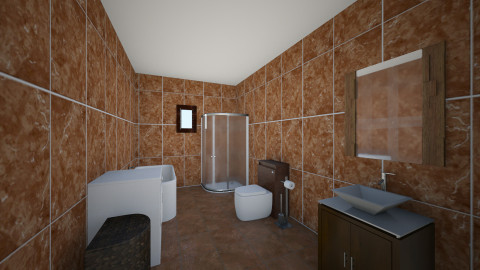 Baie maro - Glamour - Bathroom  - by Ionut Corbu