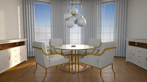 Round Dining Room - Classic - Dining room  - by hiiamdani