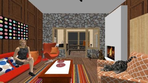 Summer House - Retro - Living room - by vanette